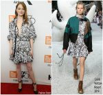 """Emma Stone  In  Louis Vuitton  @  """"The Favourite """" 2018 New York Film Festival Opening Night Premiere"""