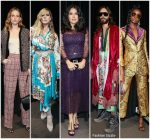 Front Row @ Gucci Spring 2019