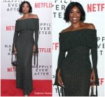 Gabrielle Union In  Elie Saab @ Netflix's 'Nappily Ever After' LA Screening