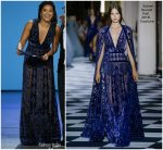 Gina Rodriguez  In Zuhair Murad Couture  @ 2018 Emmy Awards