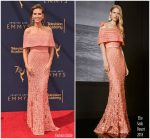 Heidi Klum  In Elie Saab  @ 2018 Creative Arts Emmy Awards
