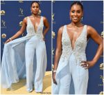 Issa Rae In Vera Wang  @ 2018 Emmy Awards