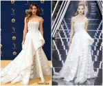 Jessica Biel In Ralph & Russo Couture  @ 2018 Emmy Awards