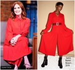 Julianne Moore In Sonia Rykiel  @ Late Night with Seth Meyers