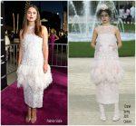 Keira Knightley In Chanel Haute Couture  @ 'Colette' LA Premiere