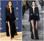 Keri Russell  In Zuhair Murad Couture  @  2018 Emmy Awards