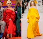 Lady Gaga In Carolina Herrera  @ The Graham Norton Show