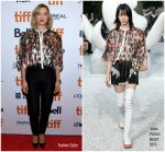 Lea Seydoux In Louis Vuitton @ 'Kursk' Toronto International Film Festival Premiere