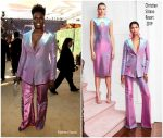 Leslie Jones  In Christian Siriano  @ 2018 Emmy Awards