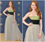 Madelaine Petsch  In  Prada  @  2018 Emmy Awards