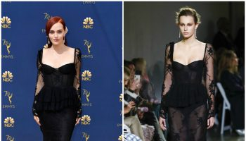 madeline-brewer-in-brock-collection-2018-emmy-awards