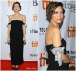 Maggie Gyllenhaal In Oscar de la Renta  @ 'The Kindergarten Teacher' Toronto International Film Festival