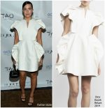 Mandy Moore In  Dice Kayek  @ Dujour Magazine Party