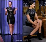 Mandy Moore In Paule Ka  @  The Tonight Show Starring Jimmy Fallon