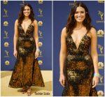 Mandy Moore In Rodarte  @ 2018 Emmy Awards