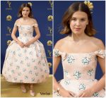 Millie Bobby Brown  In Calvin Klein By Appointment  @ 2018 Emmy Awards