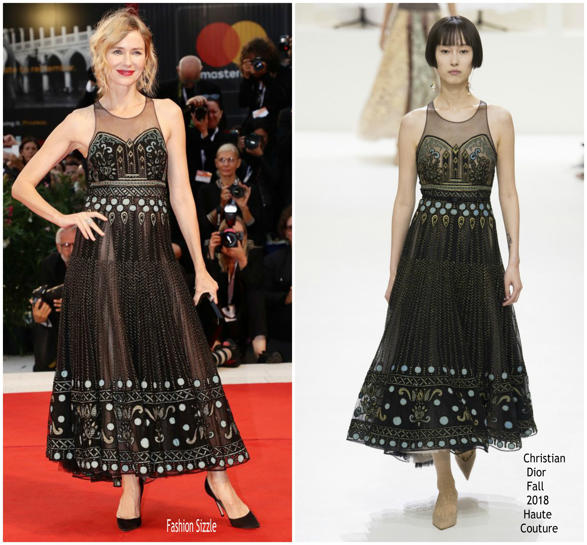 Naomi Watts In Chrisian Dior Suspiria Venice Film Festival Premiere Review