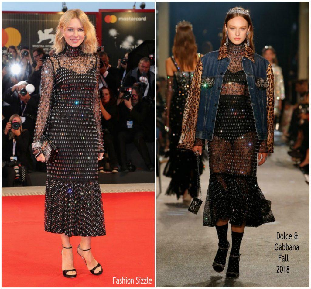 Naomi Watts In Dolce & Gabbana @ 'At Eternity's Gate