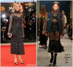 Naomi Watts In Dolce & Gabbana  @ 'At Eternity's Gate' Venice Film Festival Premiere