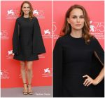 "Natalie Portman  In Christian Dior  @  ""Vox Lux"" Venice Film Festival Photocall"