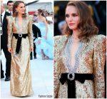 Natalie Portman In Gucci  @ 'Vox Lux' Venice Film Festival Premiere