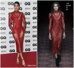 Neelam Gill  In Julien Macdonald  @ 2018 GQ Men of the Year Awards in London