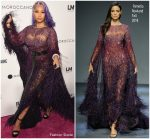Nicki Minaj In Pamella Roland  @ Daily Front Row's 2018 Fashion Media Awards