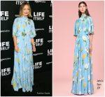 Olivia Wilde In Andrew Gn @  'Life Itself' LA Premiere