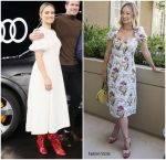 Olivia Wilde In Kate Spade New York & Tracy Feith  @ 'Life Itself' Promotion
