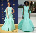 Poppy Delevingne In Giambattista Valli Haute Couture @ 2018 Emmy Awards