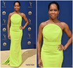 Regina King  In Christian Siriano @  2018 Emmy Awards