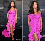 Rihanna In Calvin Klein By Appointment  Celebrates Fenty Beauty's 1-Year Anniversary