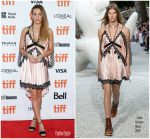 "Riley Keough  In Louis Vuitton  @ ""Hold TheDark "" Toronto International Film Festival Premiere"