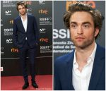 "Robert Pattinson In Dior Men  @ ""High Life""  San Sebastian International Film Festival Premiere"