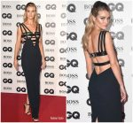 Rosie Huntington-Whiteley In  Versace @ 2018 GQ Men of the Year Awards in London