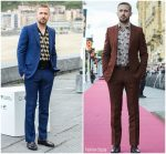 Ryan Gosling  In Gucci Promoting First Man during the 2018 San Sebastian International Film Festival