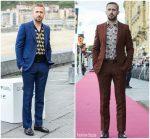 Ryan Gosling  In Gucci Promoting First Man during the 2018 San Sebastian International Film Festival