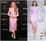 Sabrina Carpenter  In Versace  @ 2018 HFPA & InStyle TIFF Celebration- 2018 Toronto International Film Festival