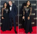 Salma Hayek in Gucci  @ Vanity Fair Personality Of The Year Gala