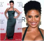 Sanaa Lathan  In  Jovani  @ Netflix's 'Nappily Ever After' LA Screening