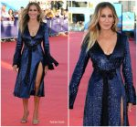 Sarah Jessica Parker In Prabal Gurung  @ 'Here And Now' Deauville American Film Festival Premiere