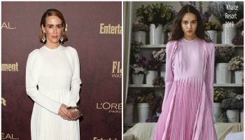 sarah-paulson-in-khaite-ew-loreal-paris-pre-emmy-party