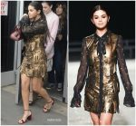 Selena Gomez in Coach 1941 @ Coach 1941 S/S 2019  NYFW Fashion Show
