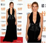 "Sienna Miller  In Louis Vuitton  @ ""American Woman""  Toronto International Film Festival Premiere"
