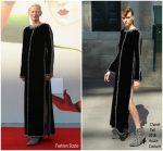 "Tilda Swinton  In   Chanel @ ""L'Annee Derniere a Marienbad"" Venice Film Festival Premiere"