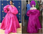 Tracee Ellis Ross  In Valentino  Haute Couture  @ 2018 Emmy Awards