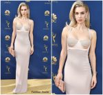 Vanessa Kirby in Tom Ford @ 2018 Emmy Awards
