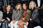 Isabelle Huppart, Léa Seydoux, Alicia Vikander and Cate Blanchett, all in Louis Vuitton