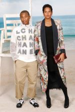Pharrell Williams and Helen Lasichanh @  Chanel Spring/ Summer 2019