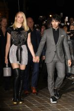Sophie Turner  & Joe Jonas  @ Louis Vuitton  Spring/Summer 2019  Show
